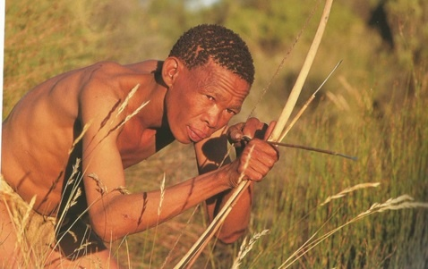 San Bushman hunter