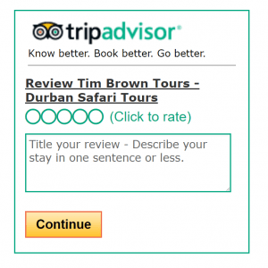 Tim Brown Tours Reviews
