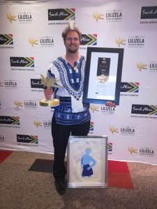 Tim Brown Lilizela 2018 national best Nature Tour guide Award winner