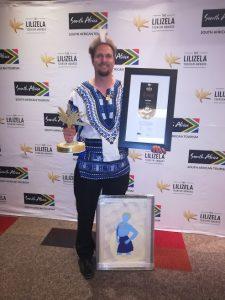 Tim Brown Lilizela 2018 national best Nature Tour guide Award winner